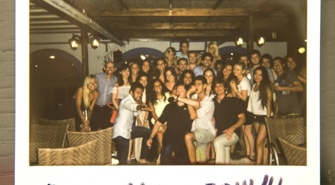 Group picture instant camera rhodes