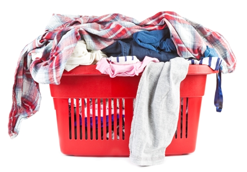 Clean your clothes while traveling abroad
